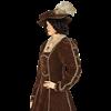 Antique Velvet Renaissance Dress