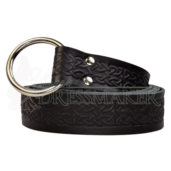 Embossed Celtic Ring Belt