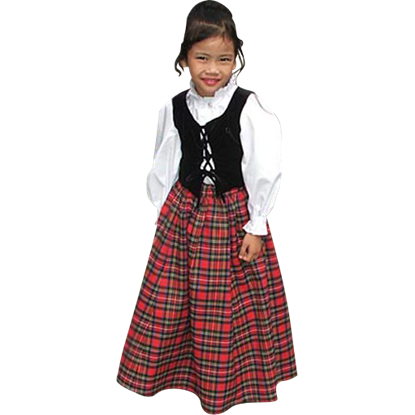 Childs Scottish Dress