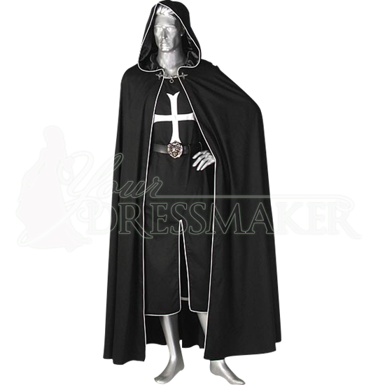 Crusader Cloak And Tunic