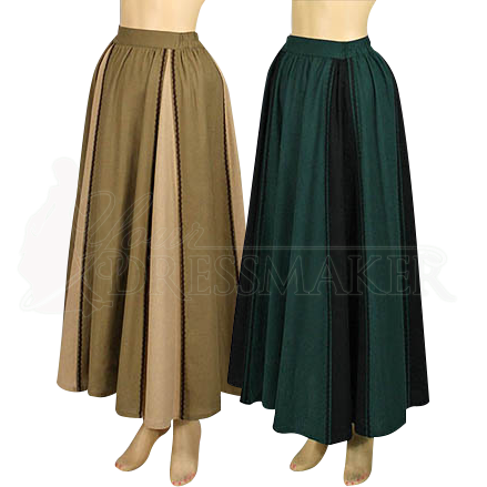Lady S Country Maiden Skirt Mci 234 By Medieval And