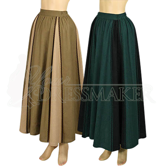 Lady's Country Maiden Skirt