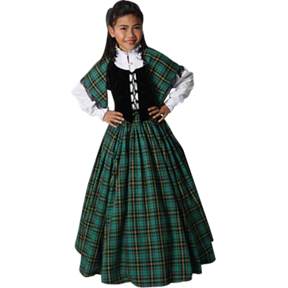 Girl's Traditional Scottish Ensemble