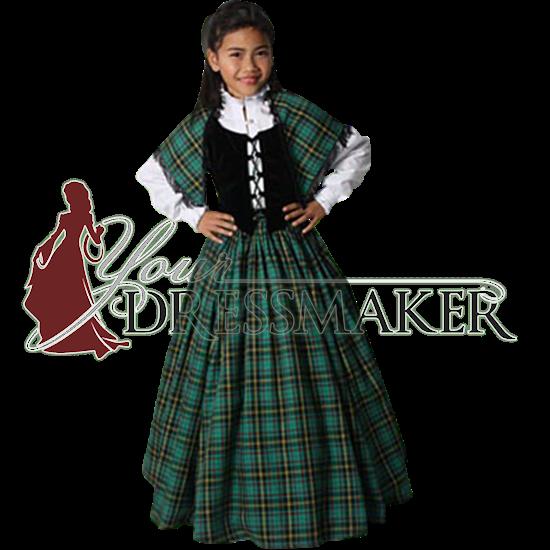 Girl's Traditional Scottish Ensemble