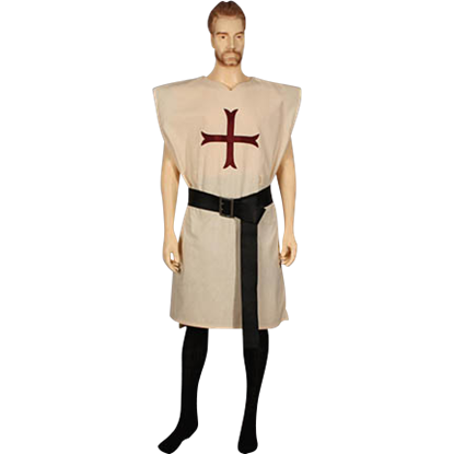 Knights Tunic With Cross