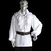 Ruffled Medieval Dress Shirt