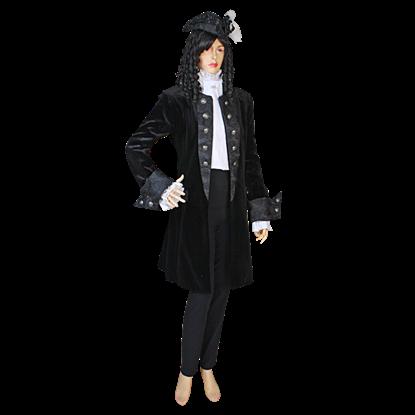 Womens Baroque Frock Coat