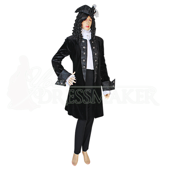 Womens Baroque Frock Coat
