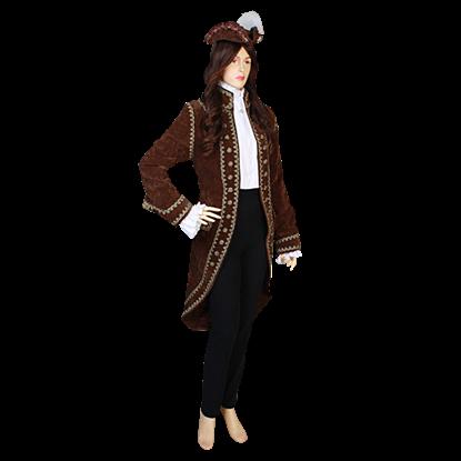 Womens Open Baroque Jacket