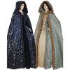 Womens Hooded Renaissance Cloak