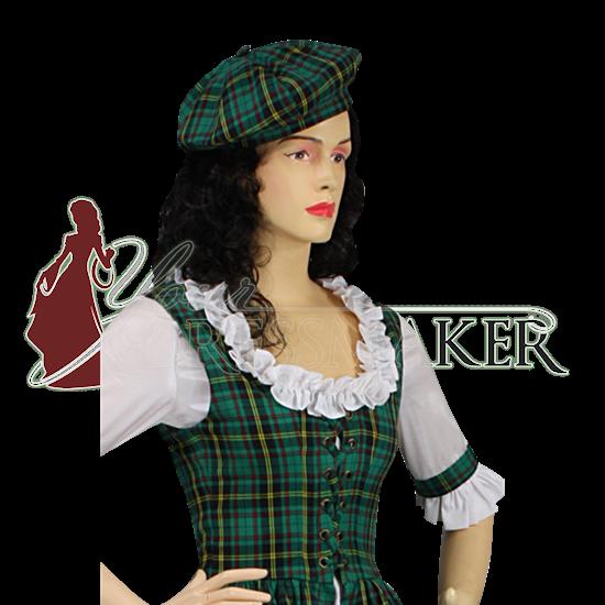 Scottish Tartan Cap