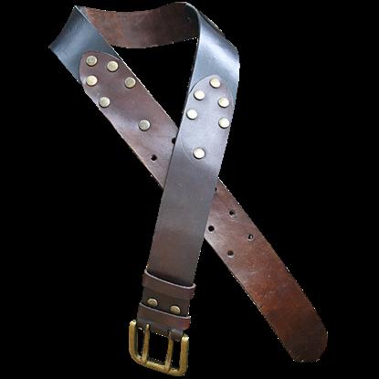 Riveted Leather Belt