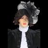 Victorian Veil Hat