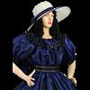 Victorian Summer Hat