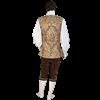 Mens Brocade Vest