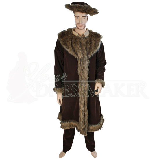 Woodsman Fur Trimmed Coat