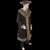 Woodsman Fur Trimmed Coat