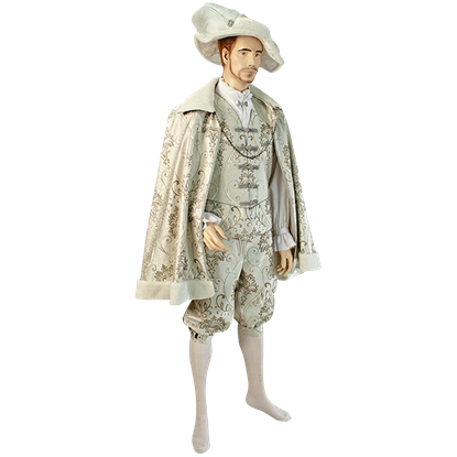 Mens Short Renaissance Cloak