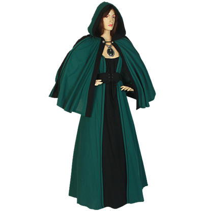 Womens Cotton Shoulder Cloak