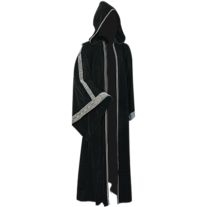 Womens Hooded Druidic Ritual Robe