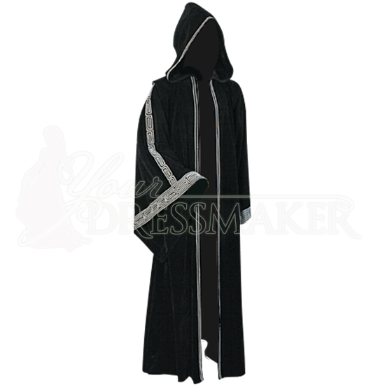 Womens Hooded Druidic Ritual Robe