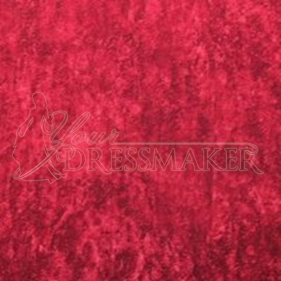 Antique Velvet Swatch - Red (04)