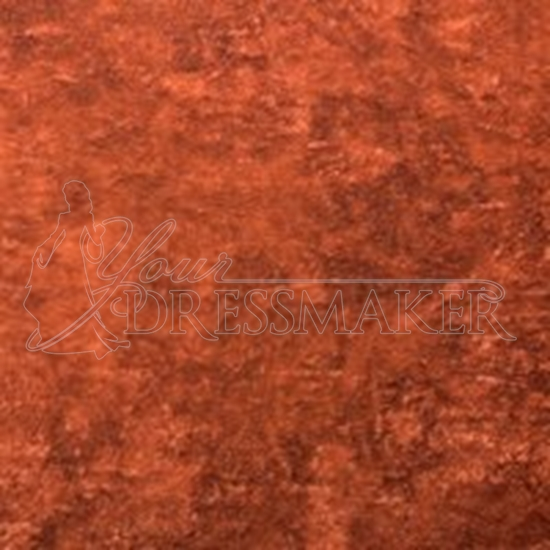 Antique Velvet Swatch - Rust (21)