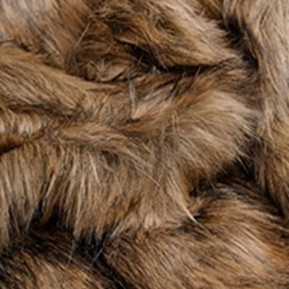 Faux Fur Swatch - Brown (04)