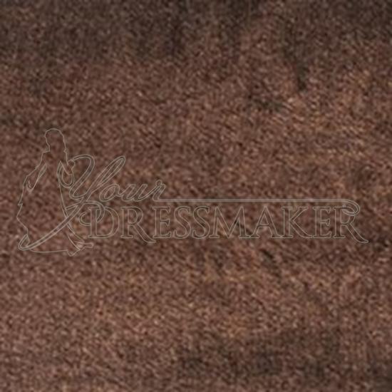 Faux Fur Swatch - Brown (05)