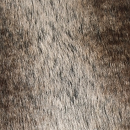 Faux Fur Swatch - Brown (06)