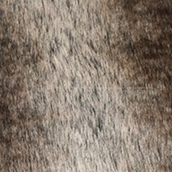 Faux Fur Swatch - Brown (06)