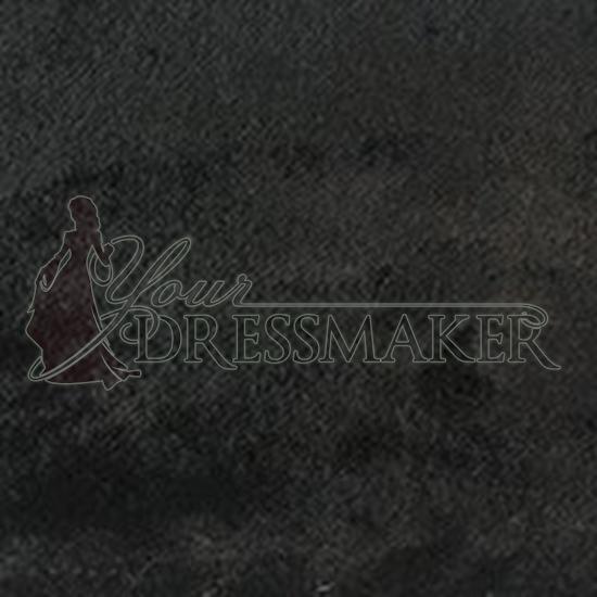 Faux Fur Swatch - Black (08)