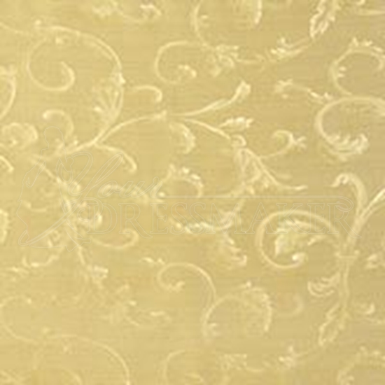 Brocade Fabric No 1 Swatch - Gold (18)