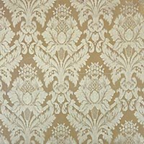 Brocade Fabric No 2 Swatch - Ivory (01)