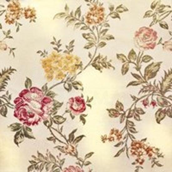 Brocade Fabric No 6 Swatch - Gold (18)