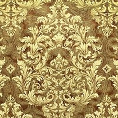 Brocade Fabric No 8 Swatch - Gold (18)