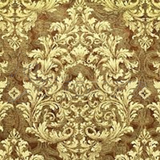 Brocade Fabric No 8 Swatch - Gold (18)