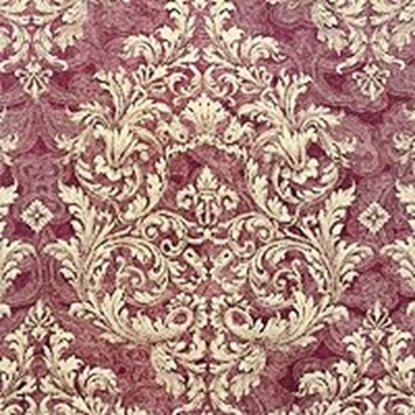 Brocade Fabric No 8 Swatch - Purple (19)