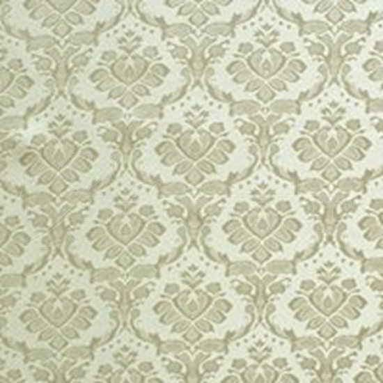 Brocade Fabric No 14 Swatch - Ivory (01)