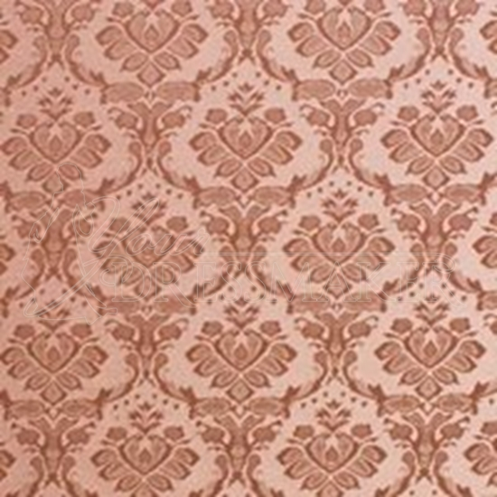 Brocade Fabric No 14 Swatch - Rose (07)