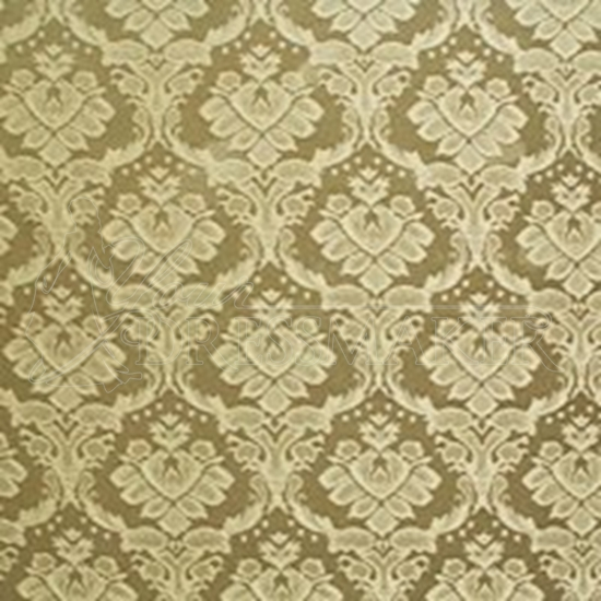 Brocade Fabric No 14 Swatch - Gold (18)