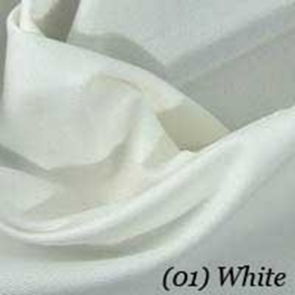 Cotton Swatch - White (01)