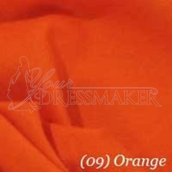 Cotton Swatch - Orange (05)