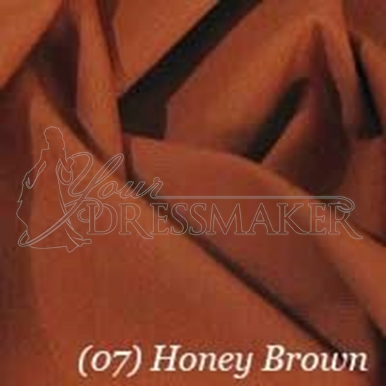 Cotton Swatch - Honey Brown (07)
