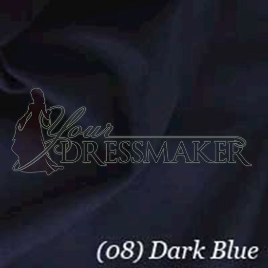 Cotton Swatch - Dark Blue (08)