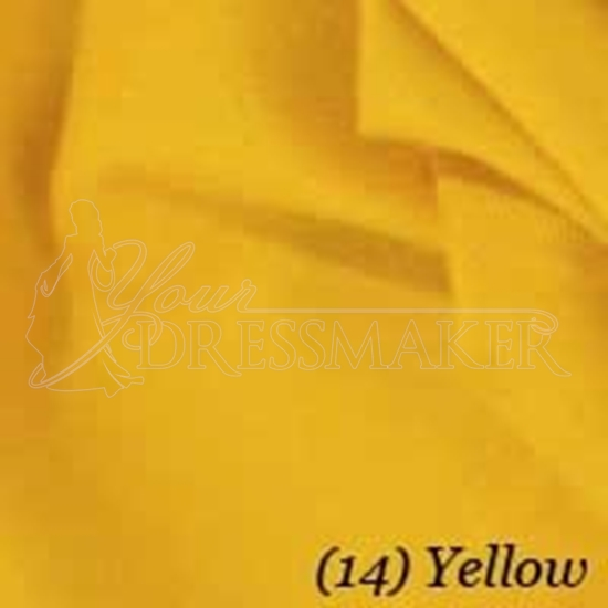 Cotton Swatch - Yellow (14)