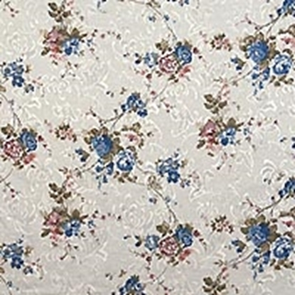 Flower Pattern Swatch - Blue (13)