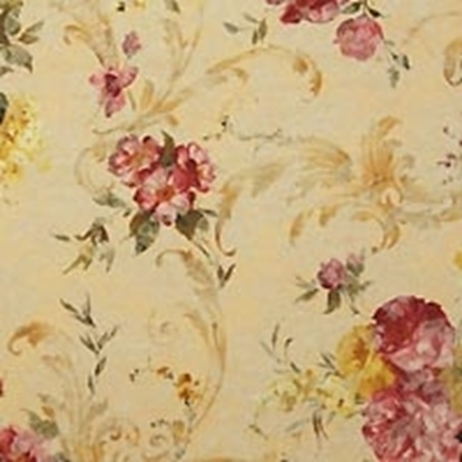 Flower Pattern Swatch - Yellow (14)