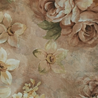 Flower Pattern Swatch - Apricot (16)