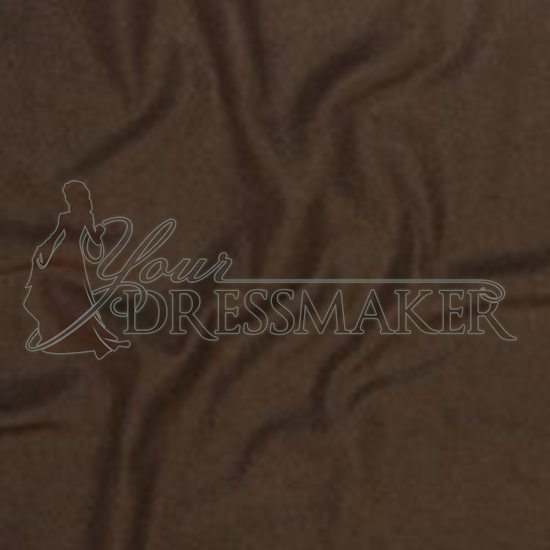 Heavy Fleece Swatch - Dark Brown (06)